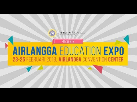 Teaser Airlangga Education Expo 2018