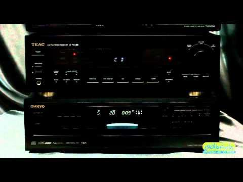 Receiver Teac AG790 e CDPlayer Onkyo DX-C390