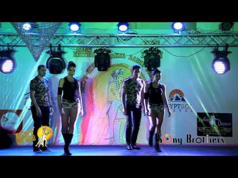 Kizomba Fever UAE Performing @ 2nd Egypt International Dance Congress 2016