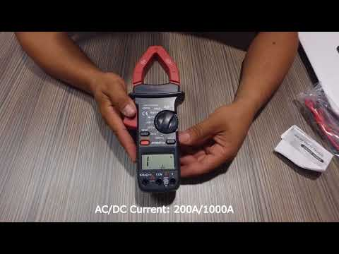 Digital AC/DC clamp meter (ebay - china 19$)