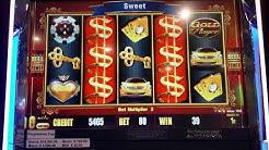 **PURE GOLD** Slot - BIG WIN!! 47X!!! EXTRA BONUS SPINS!! @Mardi Gras Casino, Black Hawk, CO