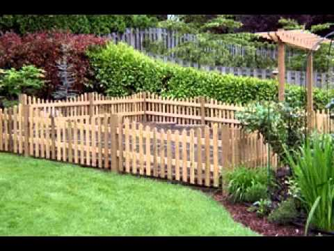 Cheap garden fencing ideas YouTube