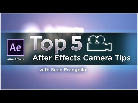 Top 5 After Effects 3D Camera Tips for better animation (AE tutorial) - Sean Frangella