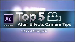 Top-5-After Effects-3D-Kamera-Tipps für bessere Animationen (AE-tutorial) - Sean Frangella