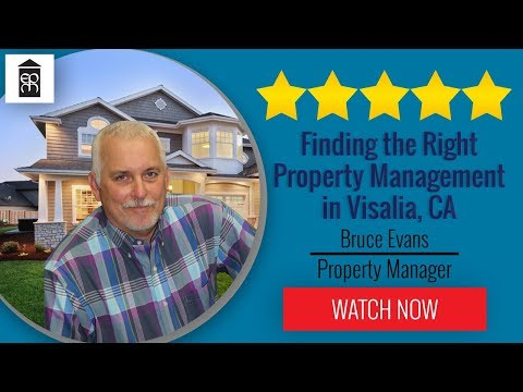 Best Property Management Company In Visalia