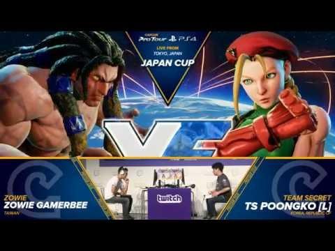 SFV: Zowie Gamerbee vs TS Poongko - Japan Cup 2016 Grand Final - CPT 2016