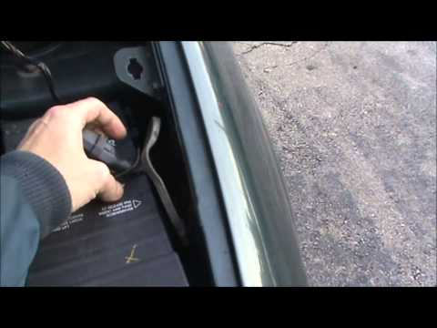 Dodge Grand Caravan Block Heater Location Cord Placement. - YouTube
