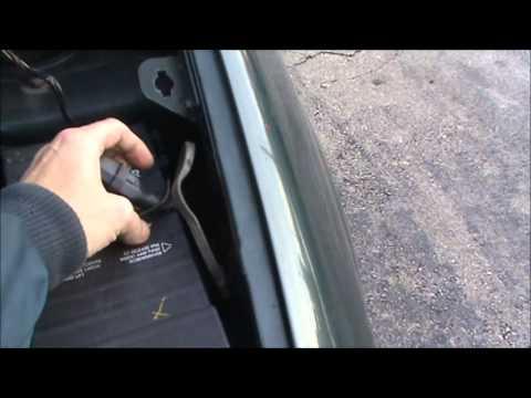 Dodge Grand Caravan Block Heater Location Cord Placement  YouTube