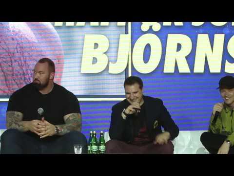 Warsaw Comic Con: Q&A z Alfie Allen i Hafþór Júlíus Björnsson / Game of Thrones (04.06.2017)