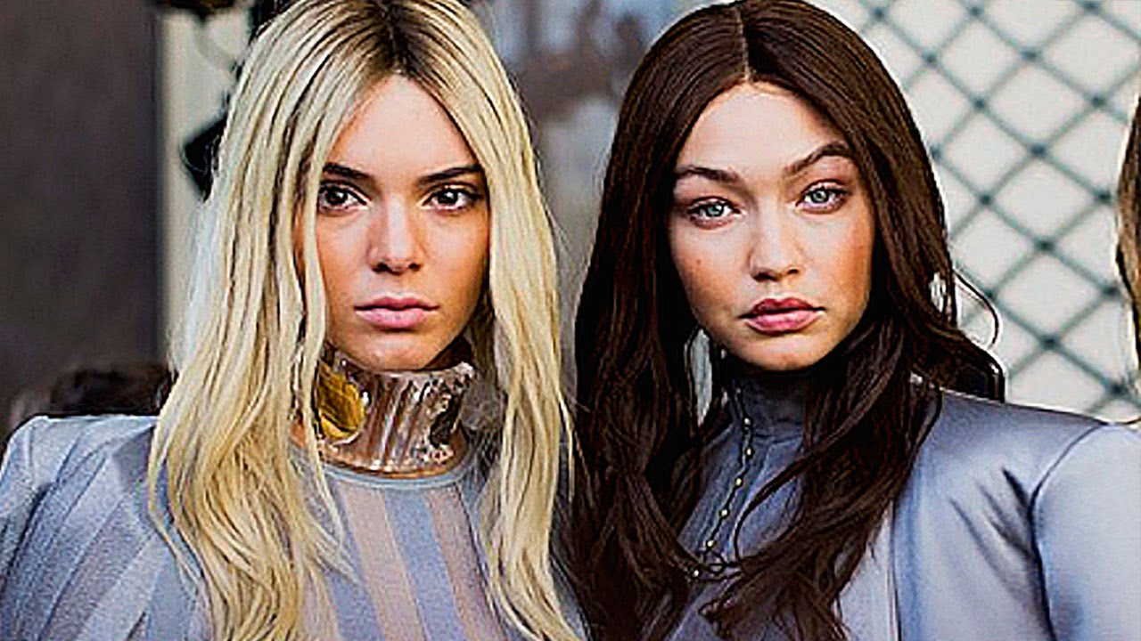 Gigi Hadid And Kendall Jenner Swap Hair Colors For Paris Fashion