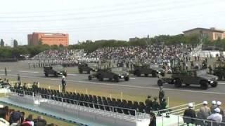 2010年 陸上自衛隊・中央観閲式予行・車両行進