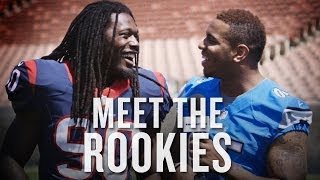 2014 NFL rookies interview and hilariously make fun of each other