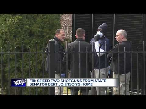 Search warrant reveals what FBI was searching for in Bert Johnson's home