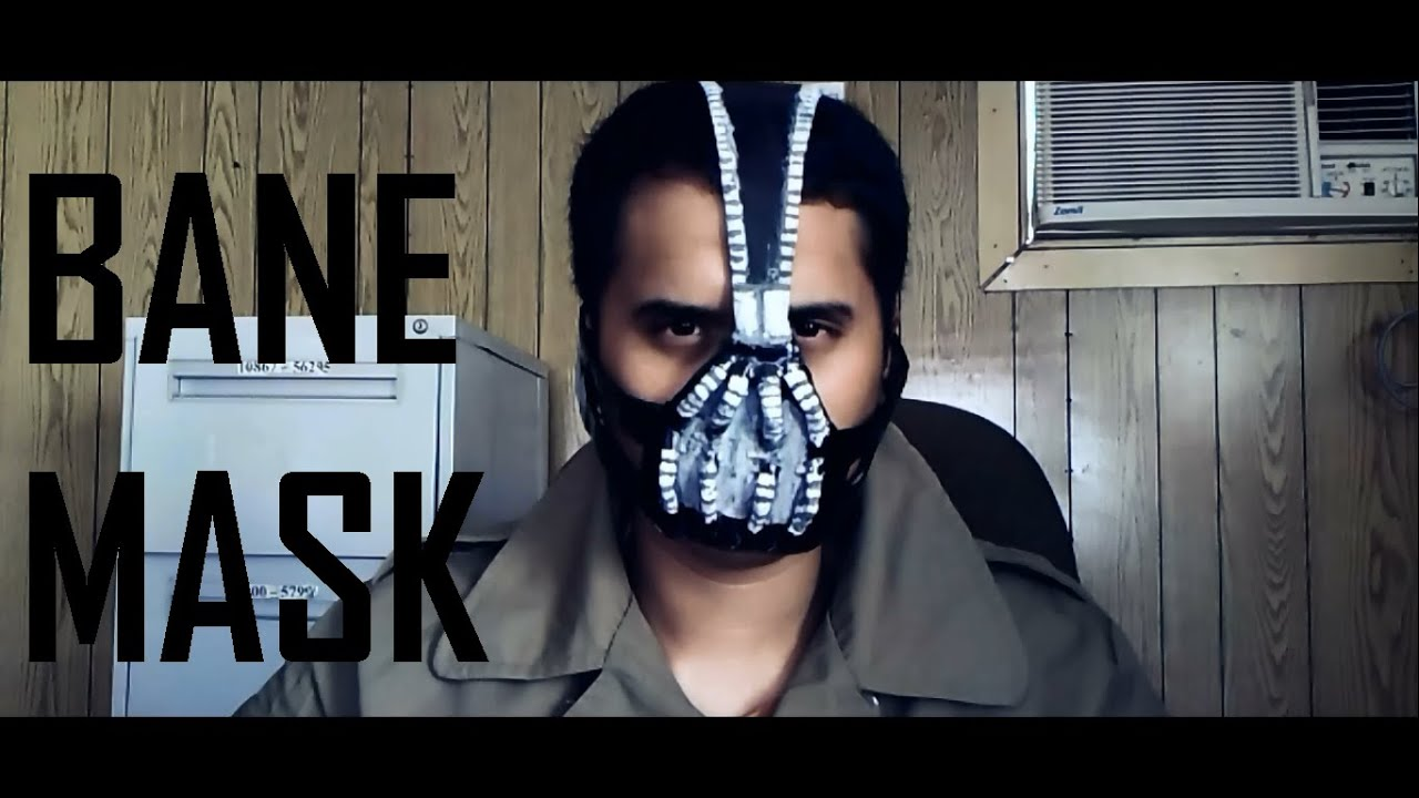 How to make your own bane mask tutorial diy youtube solutioingenieria Choice Image