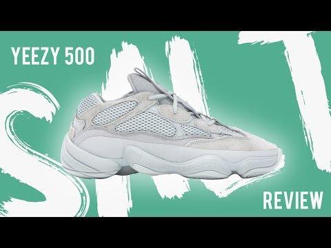best cheap ae2bb 6d1ac ADIDAS YEEZY 500 SALT REVIEW + ON FOOT