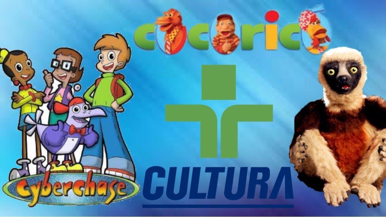 A Tv Cultura E Seus Desenhos Marcantes