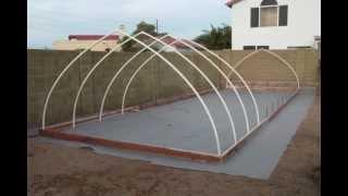 Aquaponics Greenhouse Anyone?