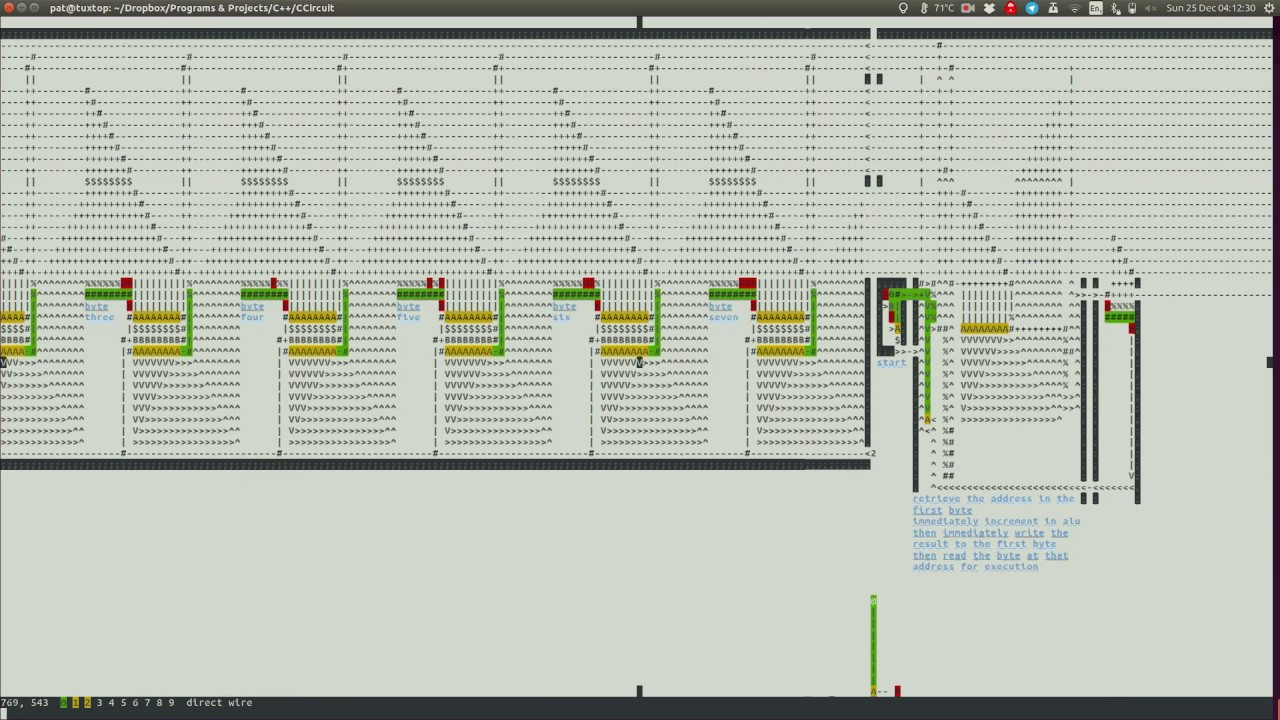 C Basic Logic Circuit Simulator 8 Bit Computer Template Update Circuits