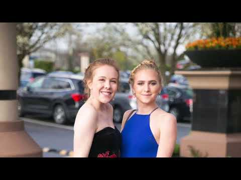 Prom 2018 with Pequea Valley High School.