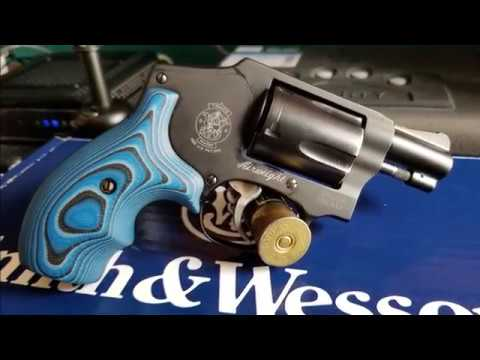 Hogue Extreme G10 Grips on My S&W 442 J Frame
