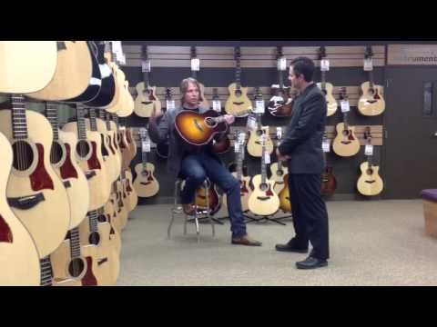 Taylor 918e Video Review at Georges Music with Aaron Dablow from Taylor Guitars