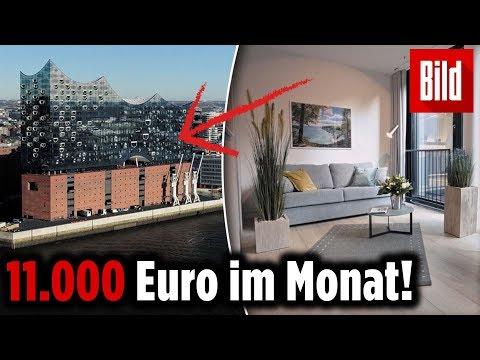 Erste Luxus-Wohnung in Elbphilharmonie fertig