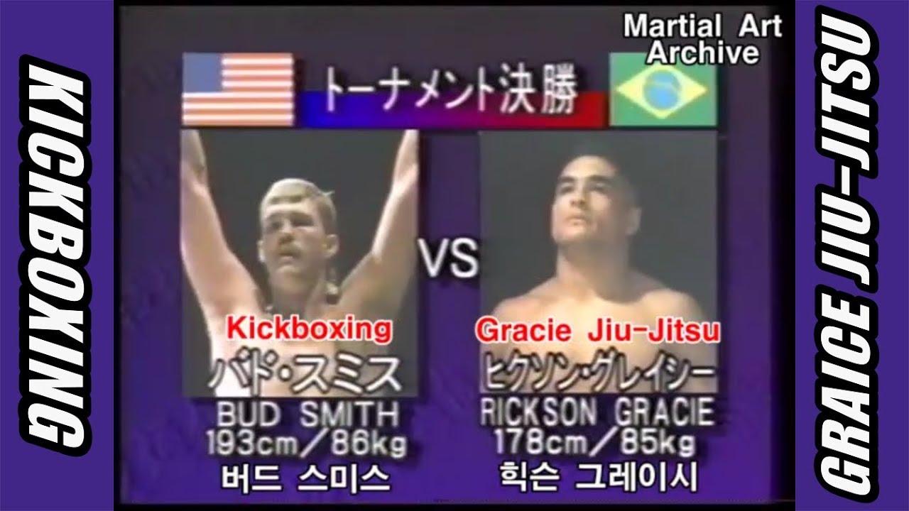 Rickson Gracie(Jiu-Jitsu) 🆚 Kickboxing [1994 Vale Tudo