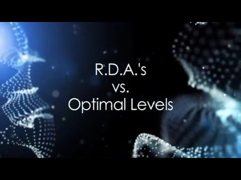 (E04) R.D.A.'s s. Optimal Levels
