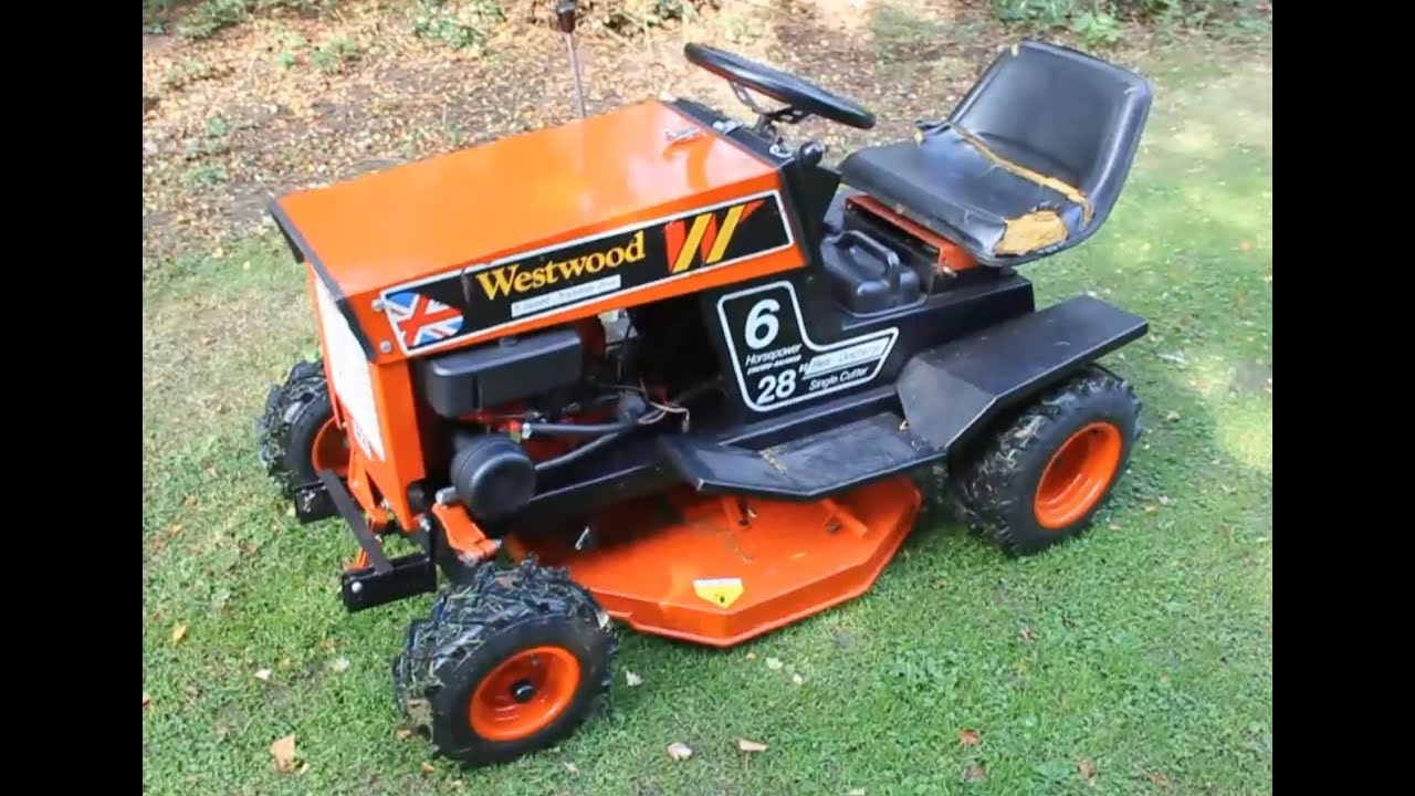 Briggs And Stratton Engine >> Westwood Gazelle W6 Fully Restored Mower - YouTube