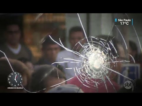 Arrastão deixa três mortos e quatro feridos na zona sul de SP   SBT Notícias (20/04/18)