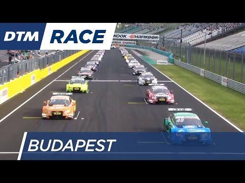 Race 1 Start - DTM Budapest 2016