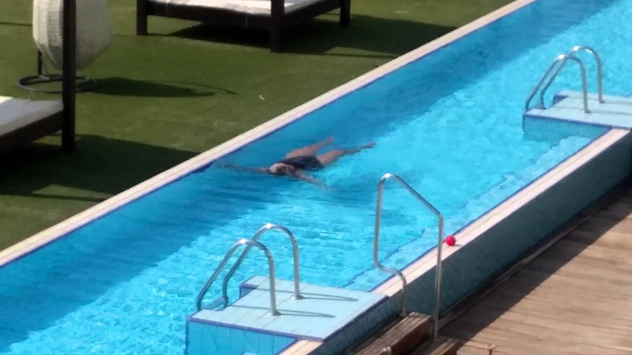 Dead Sea Israel Swimming Pool Youtube