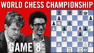 World Chess Championship 2018 Game 8: Magnus Carlsen vs Fabiano Caruana