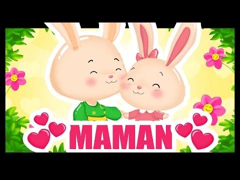 Maman je t'aime - Comptines et dessins animés avec Maman - Fête des mères -Titounis
