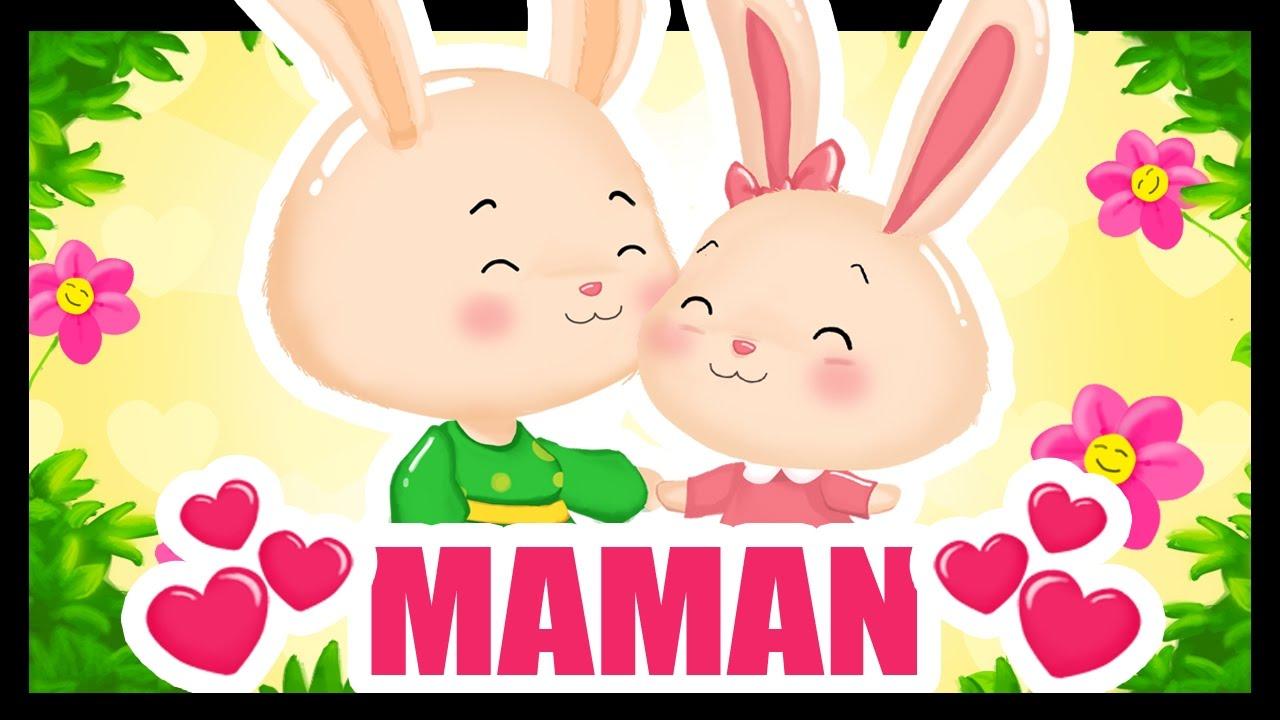 96215e3d70991 Maman je t aime - Comptines et dessins animés avec Maman - Fête des mères  -Titounis