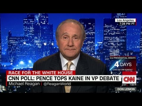 Michael Reagan: Nancy would vote for Hillary Clinton