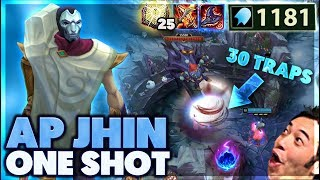 CRAZY TRAP ONE SHOTS | INSANE SNIPES | 1000 AP JHIN - BunnyFuFuu