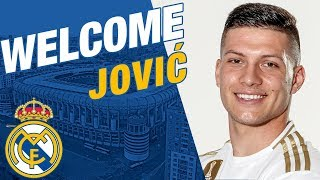 Luka Jović's Real Madrid presentation | Behind the scenes