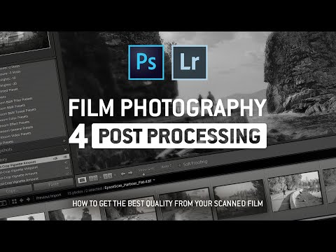 Film Photography Intro Pt.4: Editing Film Photos in Lightroom and Photoshop