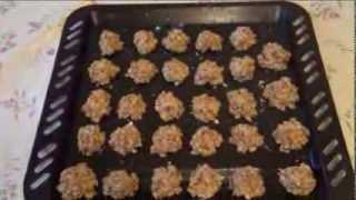 Печенье из овсяных хлопьев. Проверенный рецепт за 30 минут