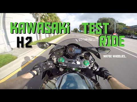 Kawasaki Ninja H2 Test Ride & Review