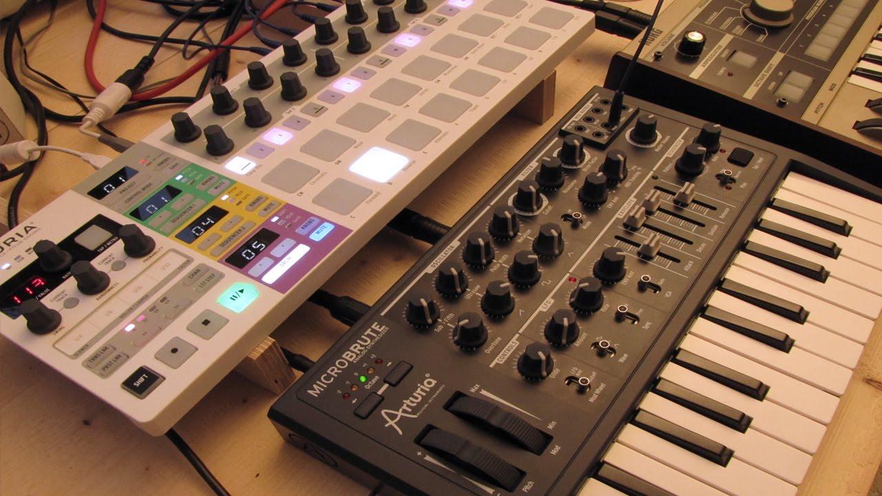 live jam 29 ambient melodic techno arturia beatstep pro microbrute modular. Black Bedroom Furniture Sets. Home Design Ideas