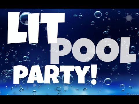 LIT POOL PARTY YEAH!  - Animal Jam