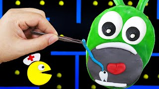 What Happens If Pac-Man Fixing Teeth For Pea Pea? | Pac-Man Stories | Funny Stop Motion