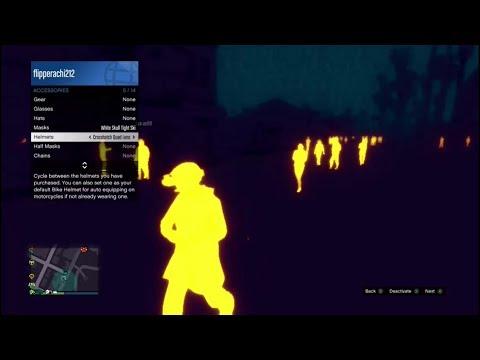 NEW UPDATE - THERMAL HELMETS & NEW MASKS - GTA ONLINE