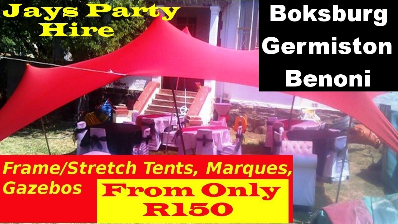 Jhb 0116242127 Frame Stretch Tent Marquees Gazebos for Hire Boksburg Germiston Benoni Johannesburg - YouTube  sc 1 st  YouTube & Jhb 0116242127 Frame Stretch Tent Marquees Gazebos for Hire ...