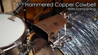 """MEINL Percussion - 6¼"""" Hammered Copper Cowbell - STB625HH-C"""