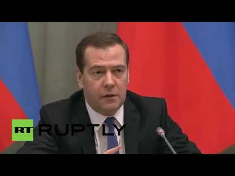 Russia: 'Economic anti-crisis measures prepared for new year' - Medvedev