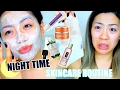 ACNE NIGHTIME SKINCARE ROUTINE | How I have been treating my acne