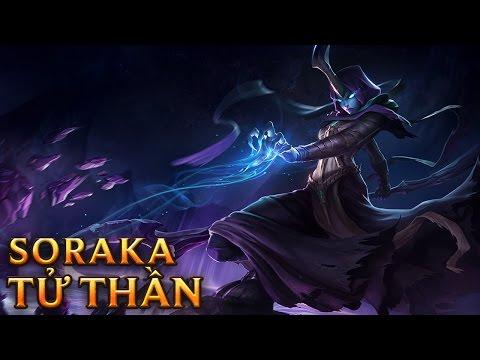 Soraka Tử Thần - Reaper Soraka - Skins lol